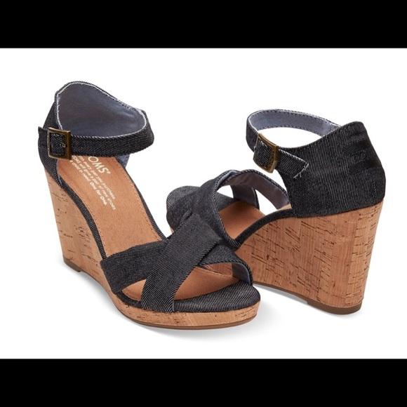 c1d35e6523c Black Denim Women s Sienna Wedges. M 5ad21e212ab8c5c1c55c6360. Other Shoes  ...